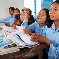 Stipendien für Kamalari-Mädchen in Nepal