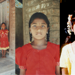 Unser Patenkind Mounika aus Indien