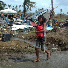 Soforthilfe für die Betroffenen auf den Philippinen