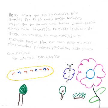 Brief von Edgar