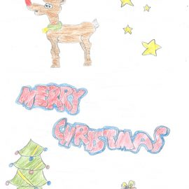 Ein Weihnachtsbild für Edgar